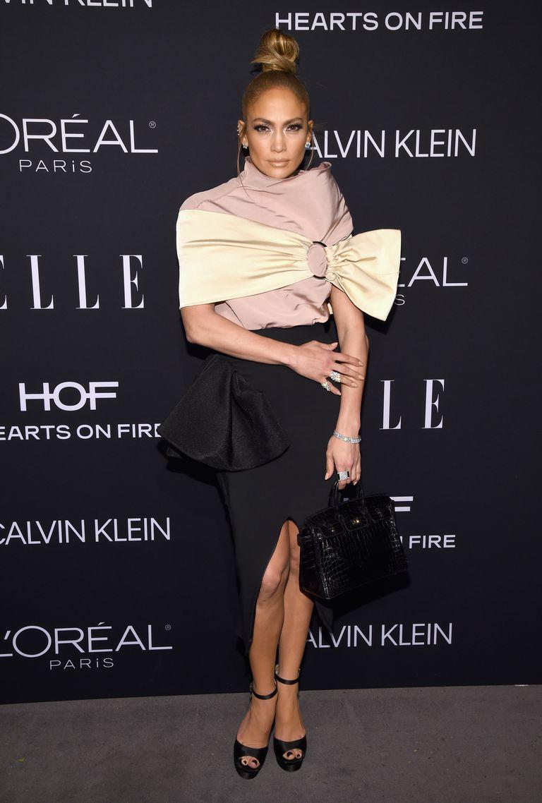 thời trang thảm đỏ ELLE's Women in Hollywood 5