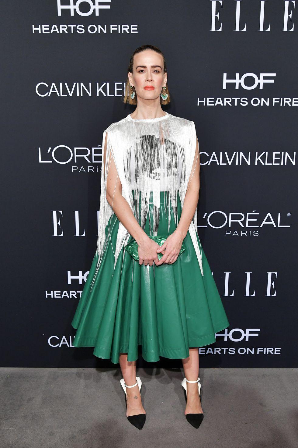 thời trang thảm đỏ ELLE's Women in Hollywood
