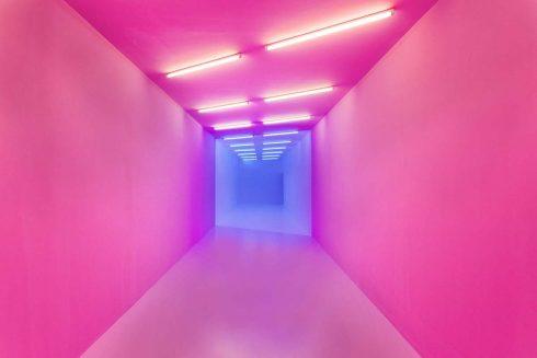 Phòng trưng bày  pink-blue - Kapwani Kiwanga, 2017 (Courtesy of the artist and galerie Jérôme Poggi, Paris / Goodman gallery, Johannesburg and Cape Town / Tanja Wagner gallery, Berlin)