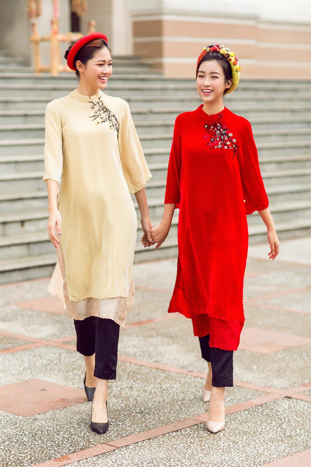 Áo dài thời trang truyền thống 05