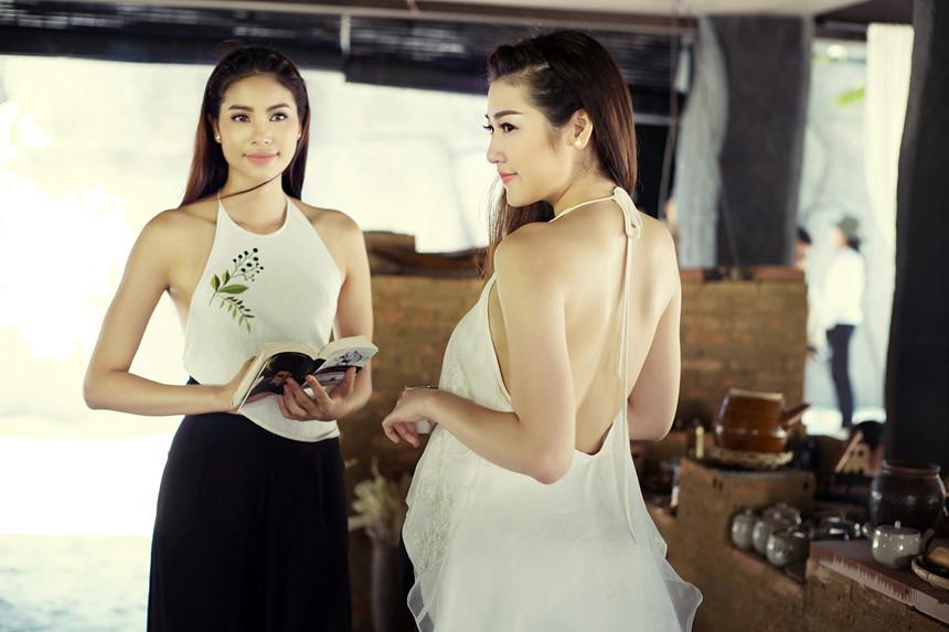 thời trang truyền thống áo yếm 01