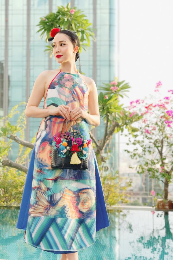 thời trang truyền thống áo yếm 02