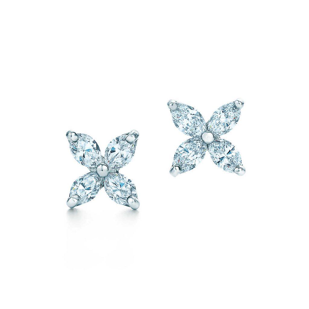 Thiết kế bông tai đính (stud earrings) của Tiffany (Nguồn: Tiffany)