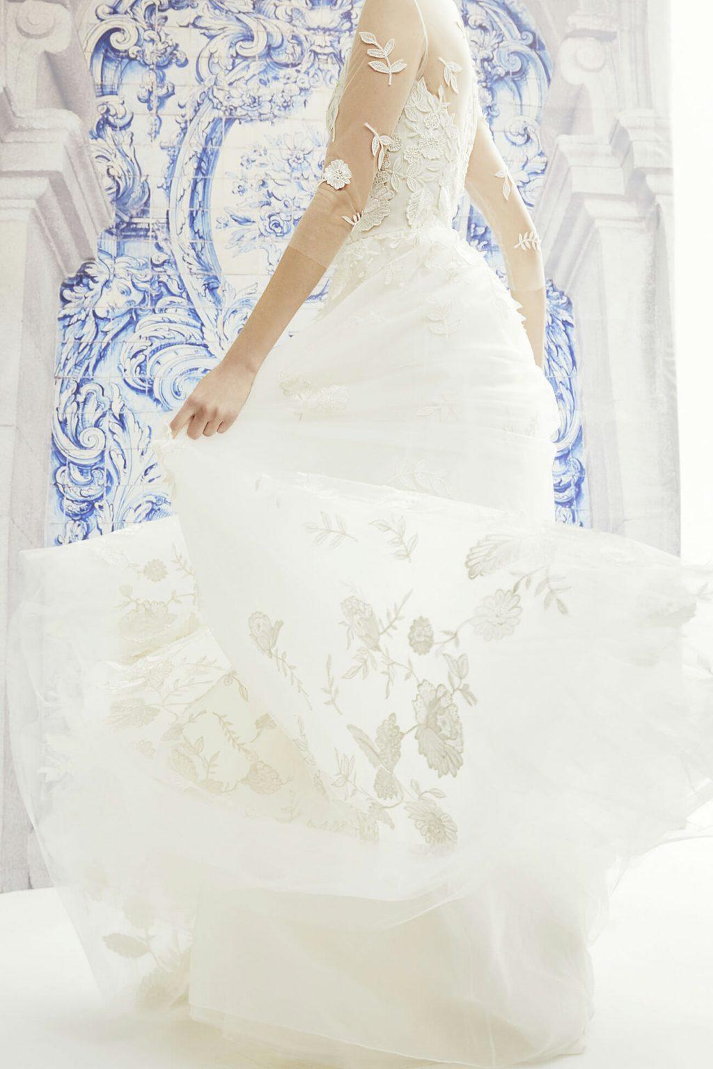 chất liệu váy cưới 01