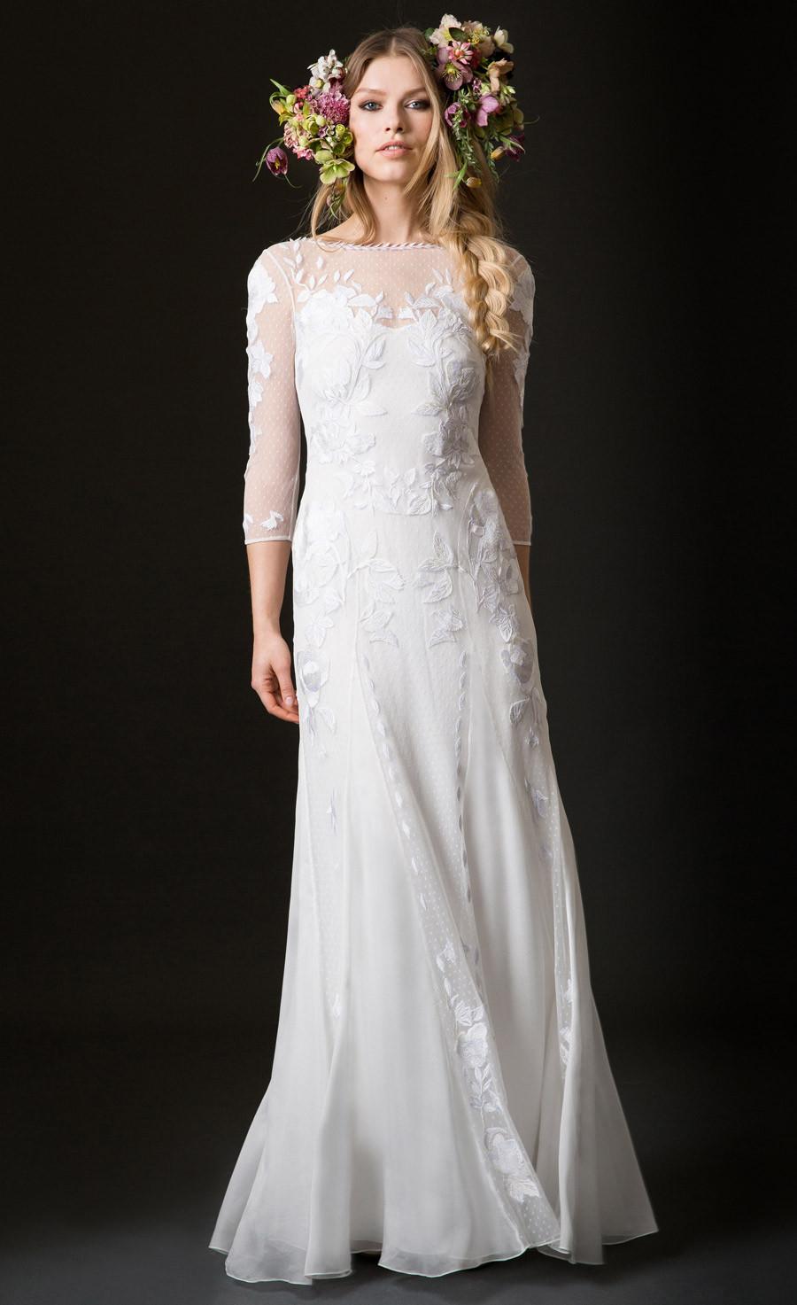 chất liệu váy cưới Temperley London