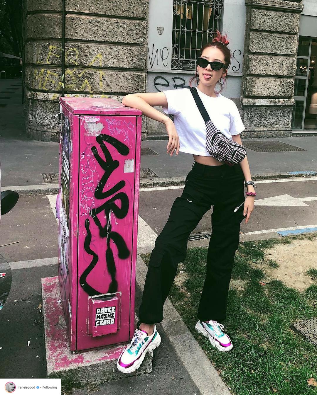 Bí quyết tạo dáng chuyên nghiệp từ nữ hoàng street style xứ Hàn Irene Kim 19