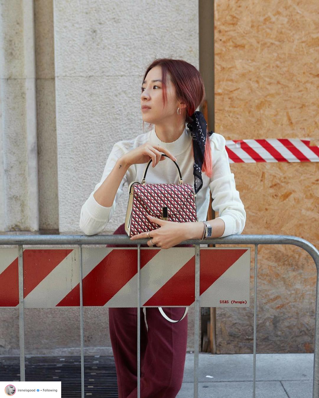Bí quyết tạo dáng chuyên nghiệp từ nữ hoàng street style xứ Hàn Irene Kim 24