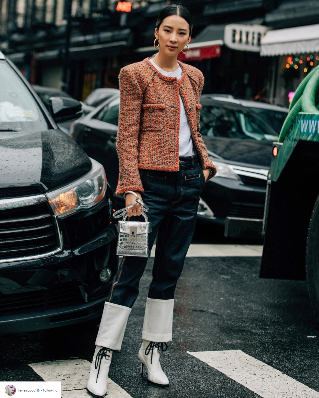 Bí quyết tạo dáng chuyên nghiệp từ nữ hoàng street style xứ Hàn Irene Kim 30