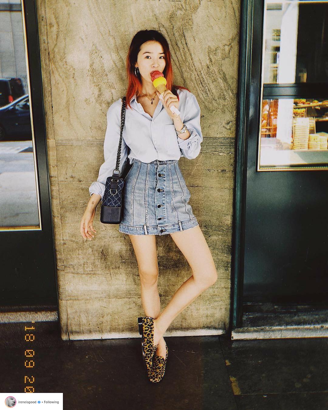 Bí quyết tạo dáng chuyên nghiệp từ nữ hoàng street style xứ Hàn Irene Kim 7