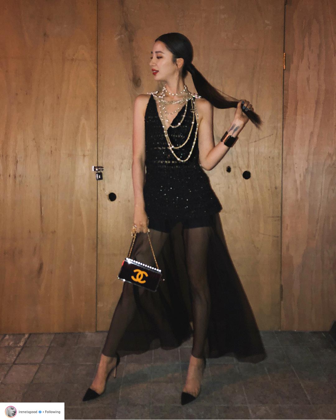 Bí quyết tạo dáng chuyên nghiệp từ nữ hoàng street style xứ Hàn Irene Kim 8