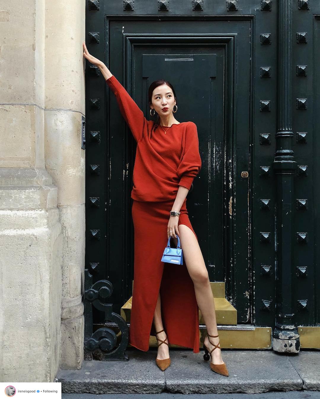 Bí quyết tạo dáng chuyên nghiệp từ nữ hoàng street style xứ Hàn Irene Kim 9