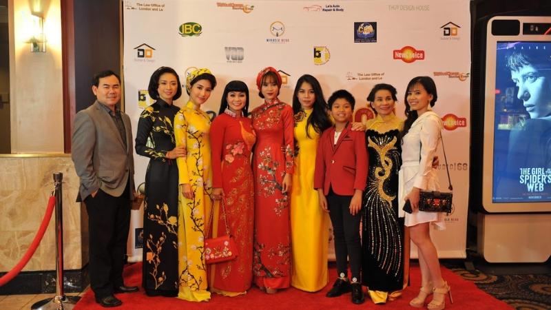 Ngô Thanh Vân, Diễn My 9x, Ninh Dương Lan Ngọc xuất hiện rạng rỡ trong buổi ra mắt Cô Ba Sài Gòn tại Mỹ | ELLE Việt Nam