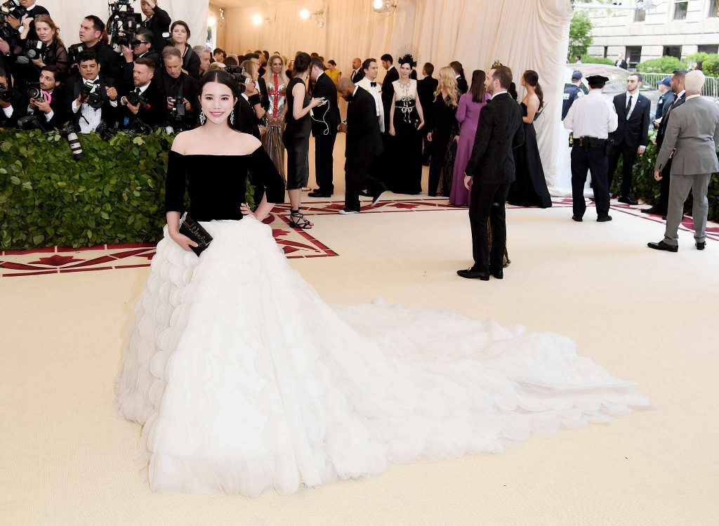Wendy Yu đầu tư vào Viện trang phục Bảo tàng Nghệ thuật Metropolitan 3