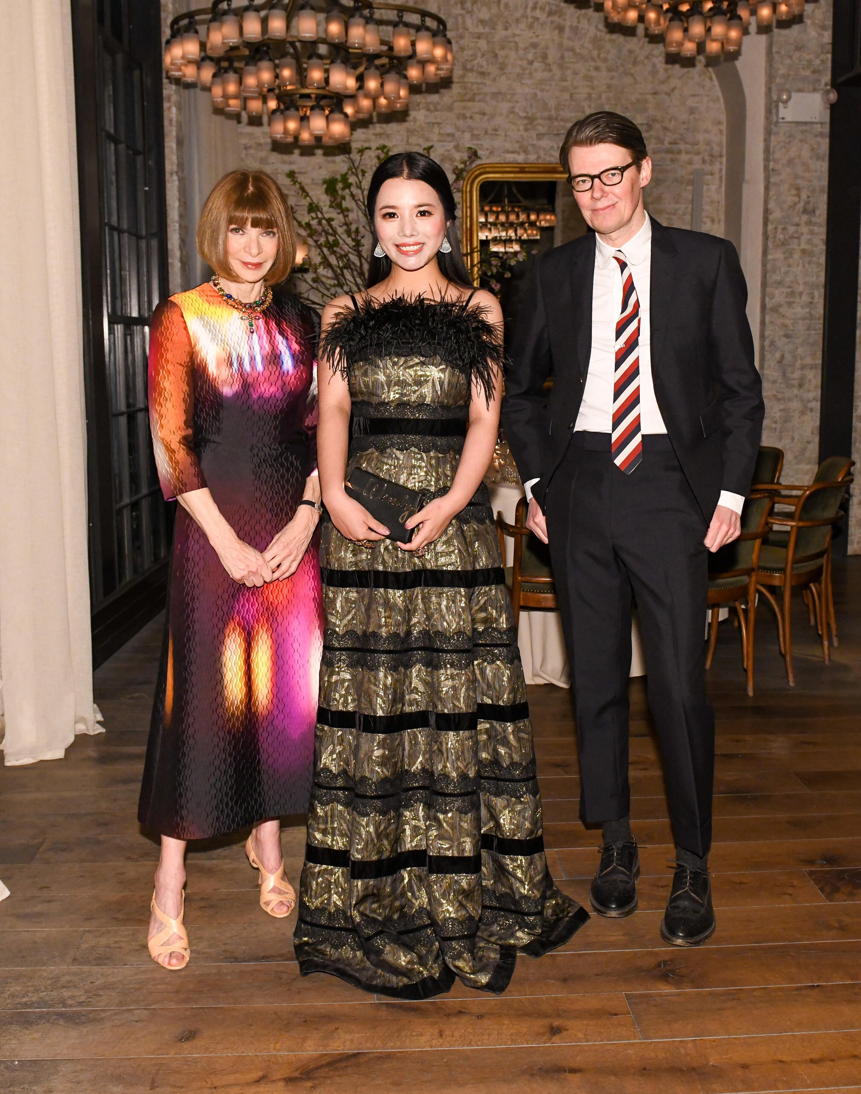 Wendy Yu đầu tư vào Viện trang phục Bảo tàng Nghệ thuật Metropolitan