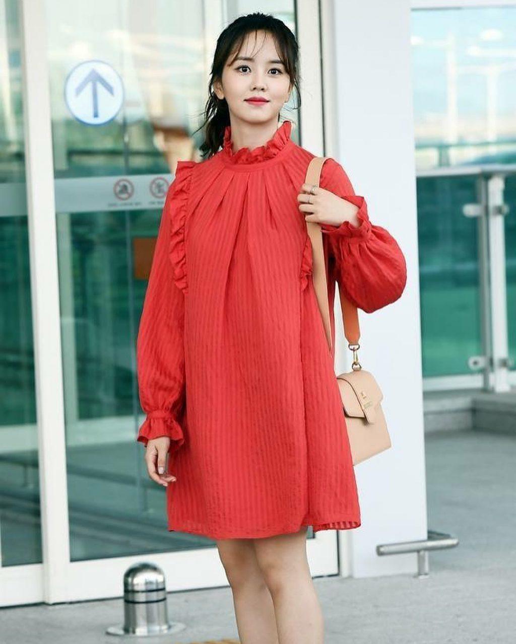 phong cách thời trang của Kim So Hyun 122