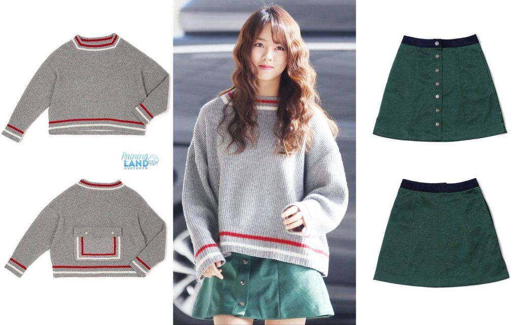 phong cách thời trang của Kim So Hyun 12