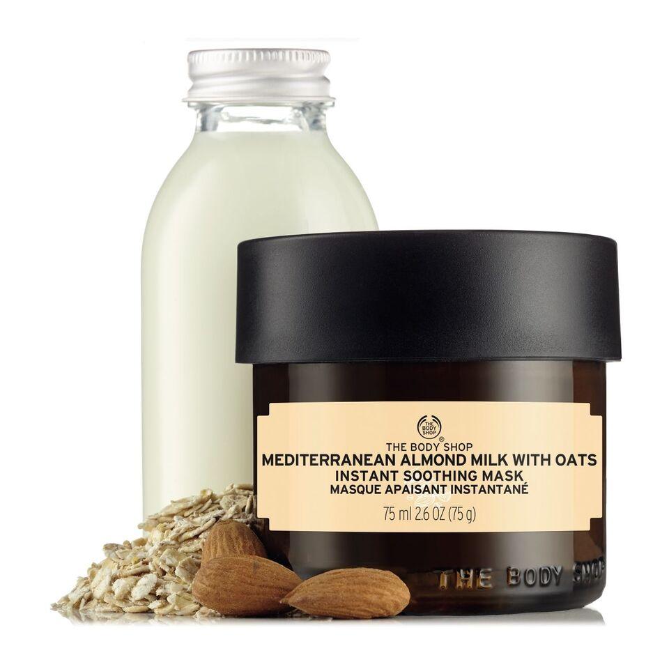 The Body Shop cho làn da mỉm cười: làm dịu da với mặt nạ sữa hạnh nhân và yến mạch hoàn toàn mới 4