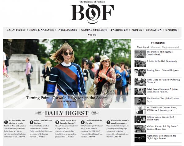 website thời trang BOF