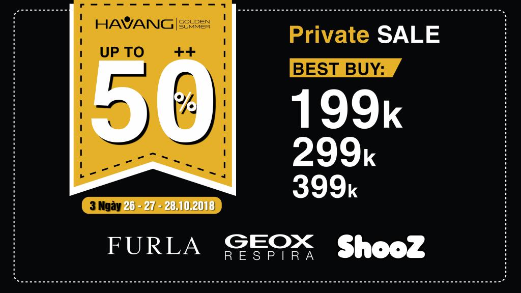 Hạ Vàng Private Sale - Sự kiện Sale được mong chờ nhất năm đã trở lại 2