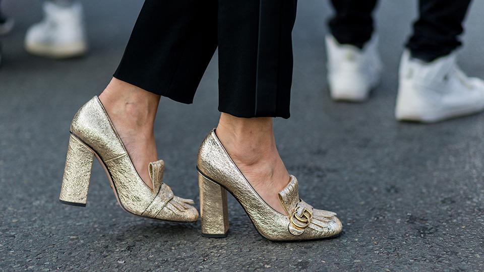 xu hướng giày cao gót mùa lễ hội 2