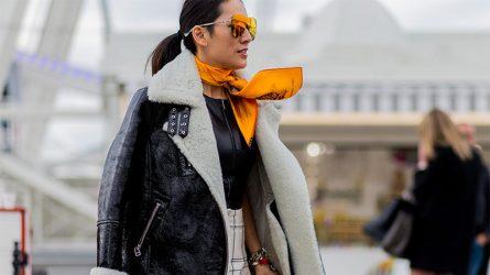 Thay đổi phong cách với 10 ý tưởng thắt khăn choàng trong mùa Thu