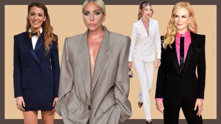 Beyoncé, Lady Gaga cùng dàn sao Hollywood thanh lịch hết tầm với phong cách menswear