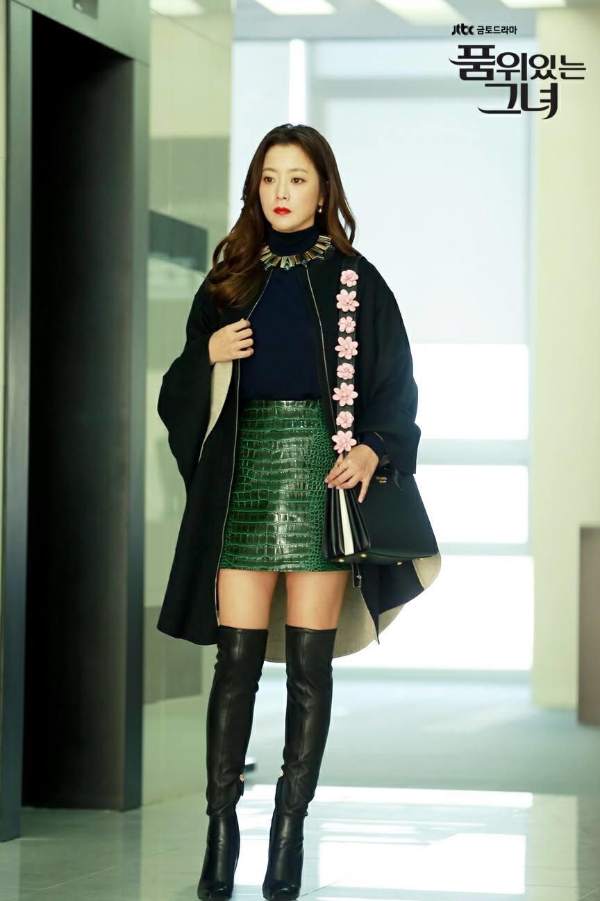 phong cách thời trang của kim hee sun 00