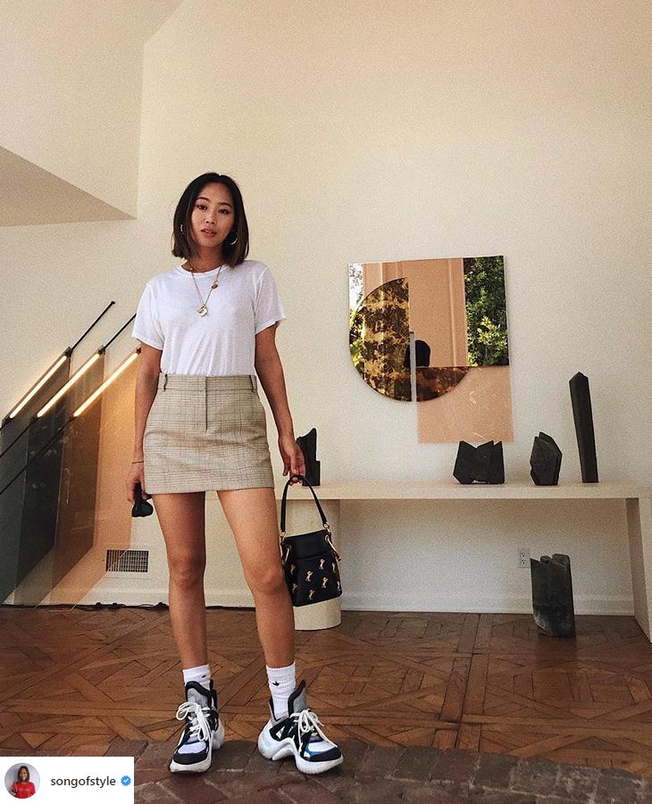 elle việt nam elle style calendar giày dad sneakers 4