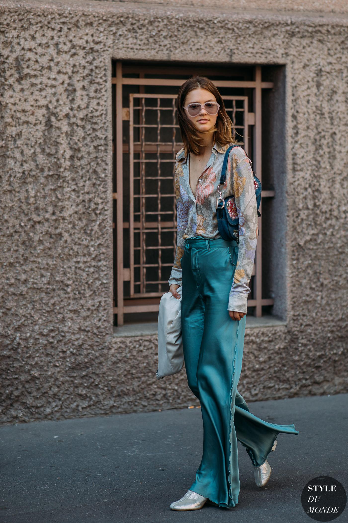 trang phục xanh ngọc lam elle việt nam 12