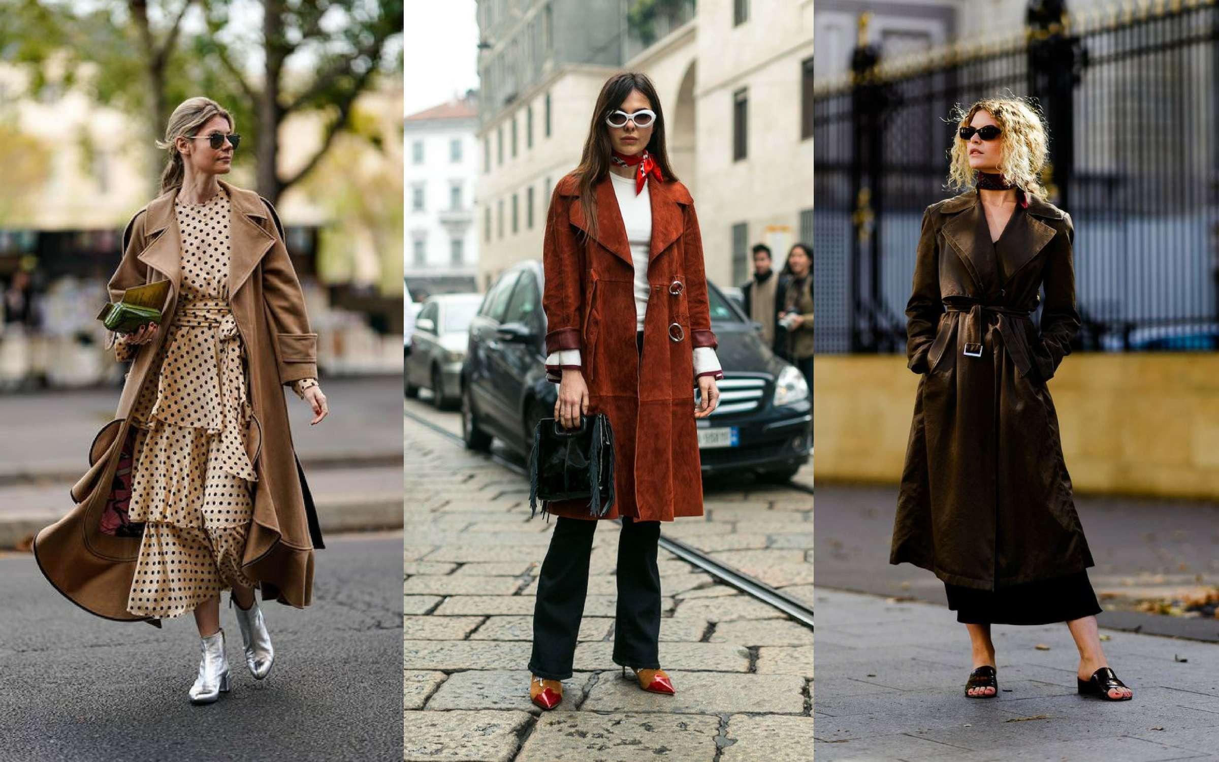 Những mẫu áo trench coat lên ngôi trong mùa mốt Thu – Đông 2018 15