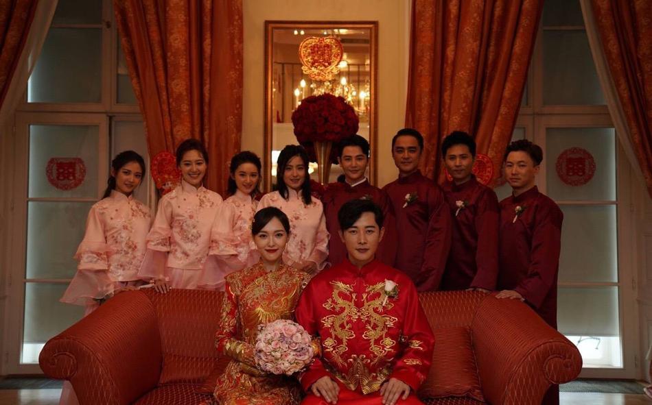 đám cưới đường yên la tấn 13