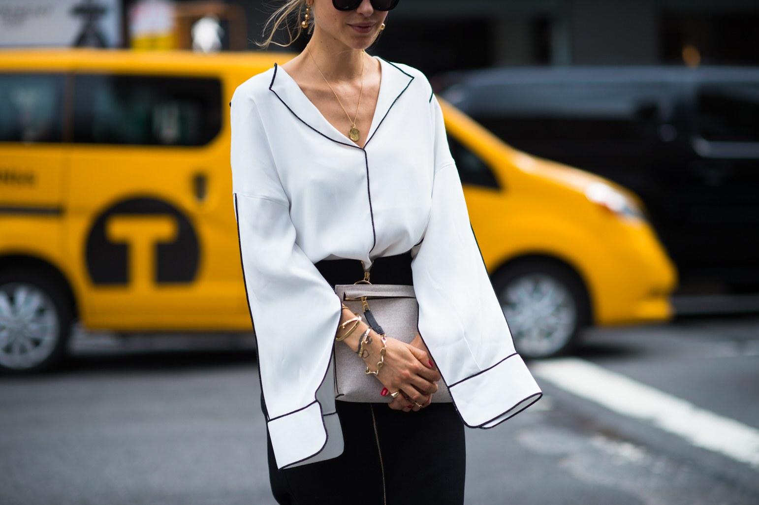 tay áo cách điệu thời trang công sở 2