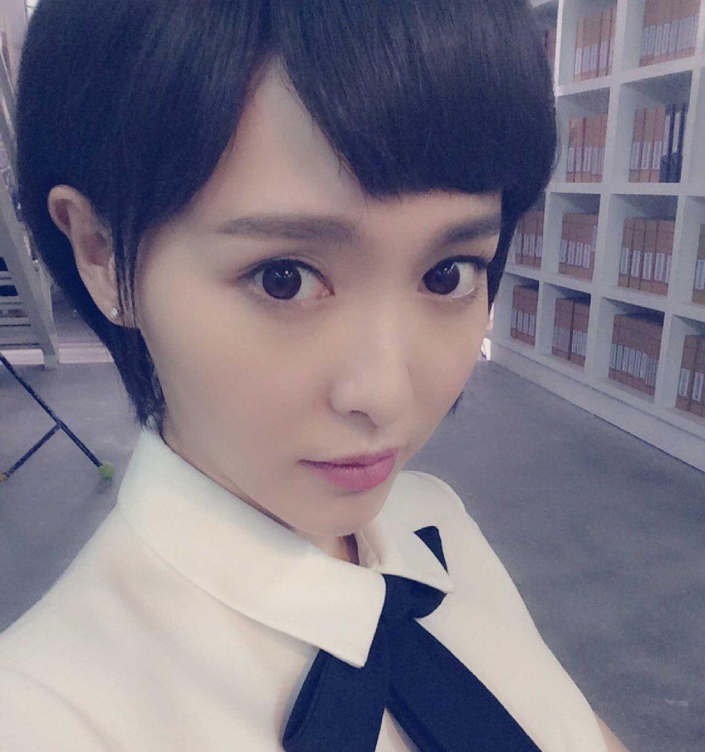 kiểu tóc đẹp của Đường Yên 9