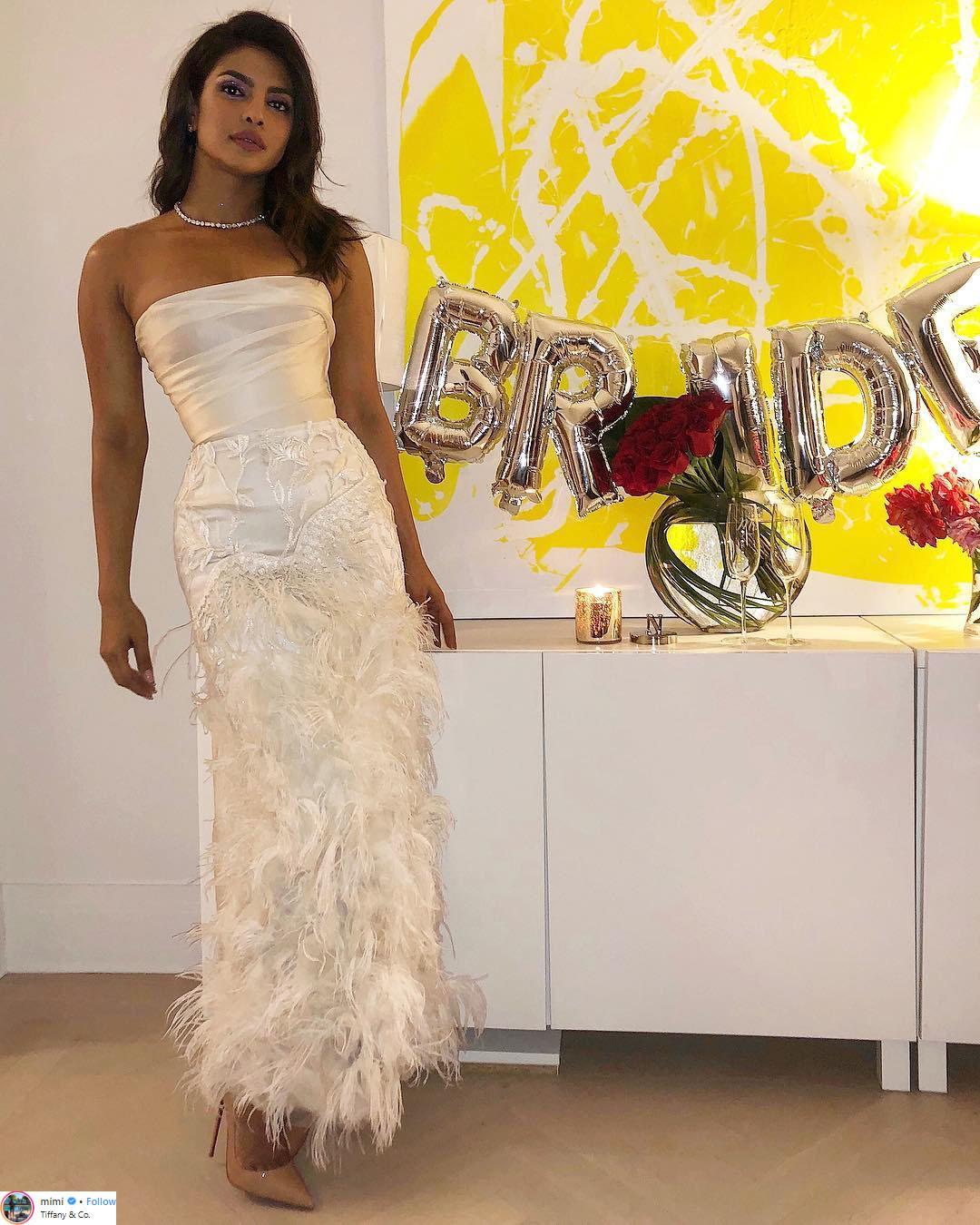 hoa hậu thế giới priyanka chopra bridal shower party 1