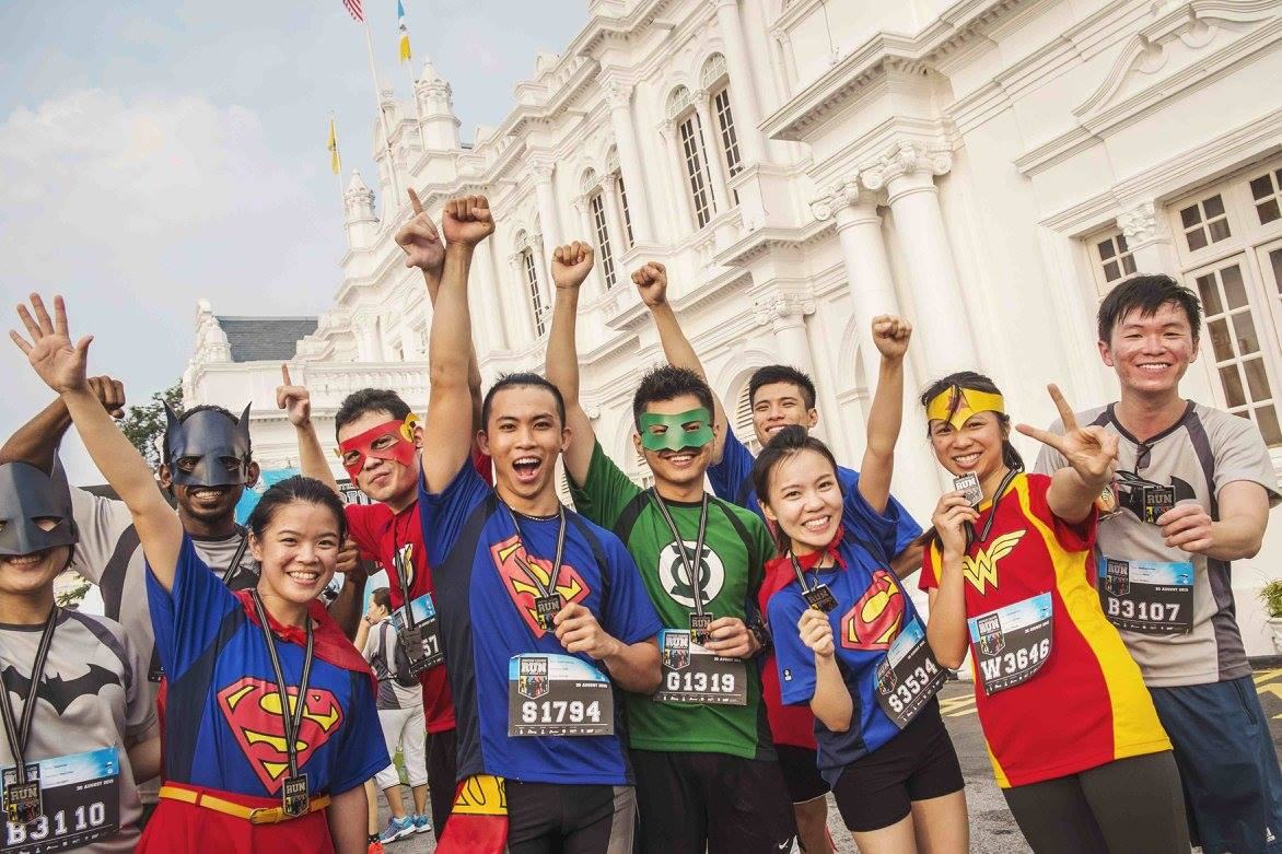 Justice League Night Run 2018