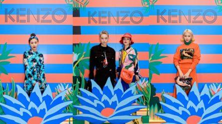 Dàn fashionista Việt lạc bước vào rừng nhiệt đới tại sự kiện ra mắt BST Memento No.3 của Kenzo
