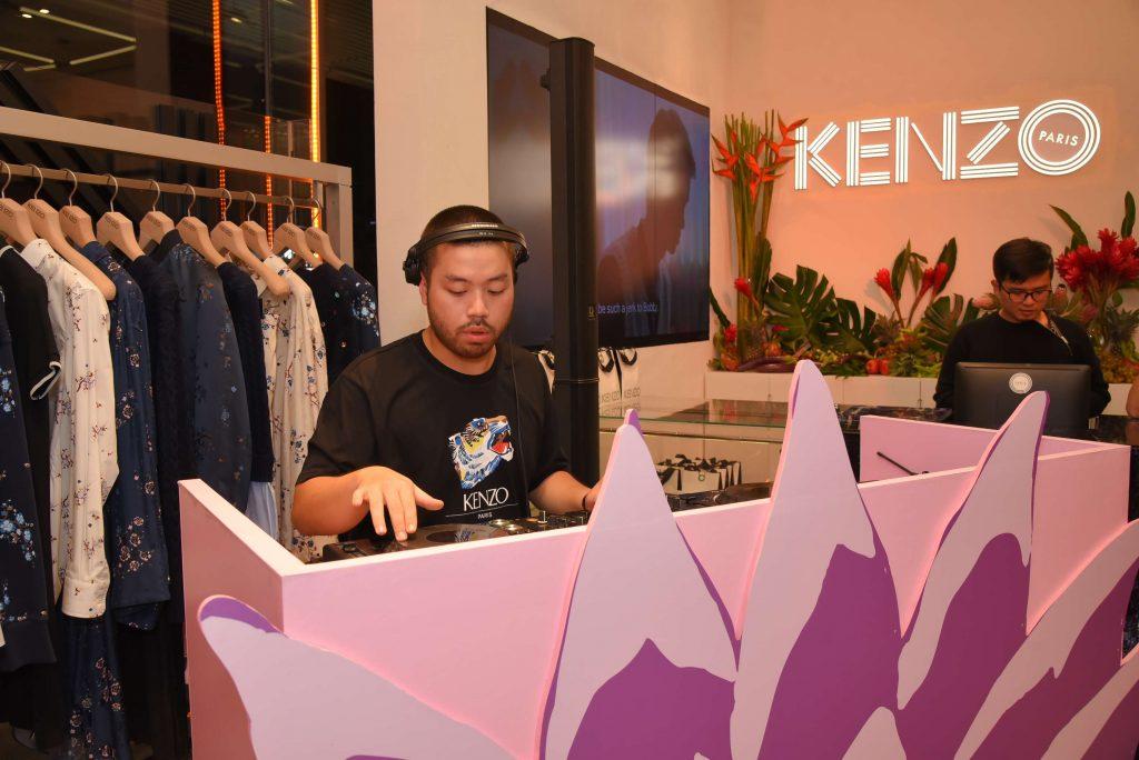 sự kiện ra mắt BST Memento No.3 của Kenzo 7