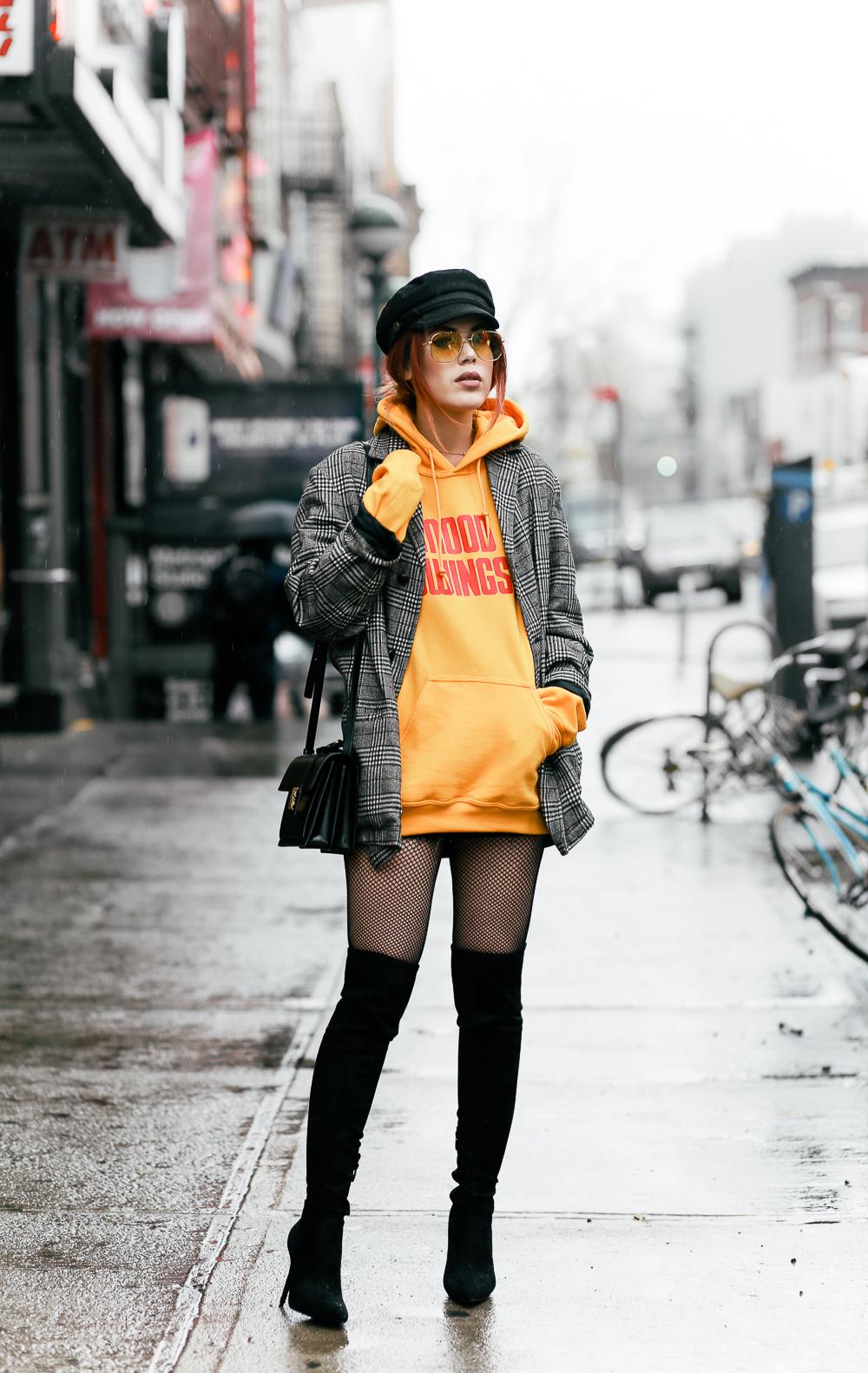 áo khoác blazer boyfriend