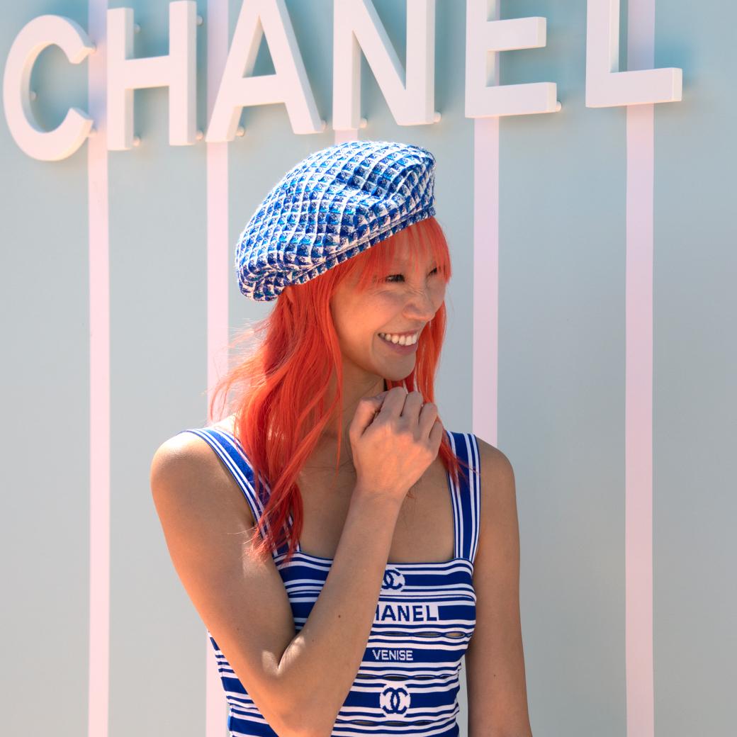 BST Chanel Cruise 2019 ở Bangkok Park Soo Joo