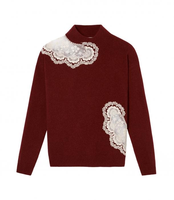 đồ da bóng áo len Eric Bompard