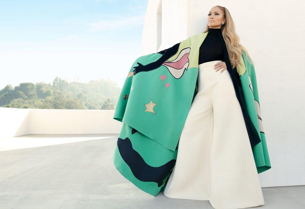 ca sĩ Jennifer Lopez trên trang bìa tạp chí Instyle 2