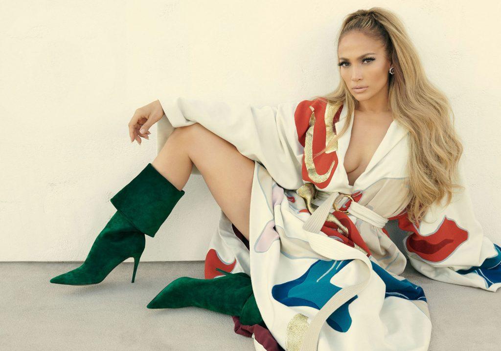 ca sĩ Jennifer Lopez trên trang bìa tạp chí Instyle 4