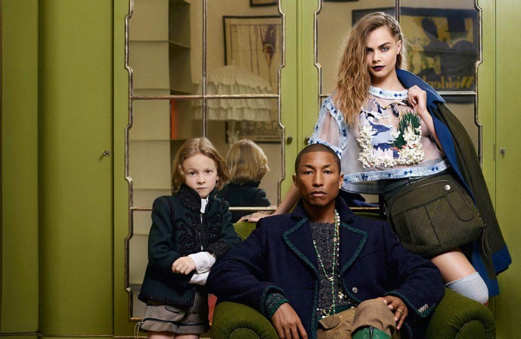 """Thương hiệu Chanel tiếp tục """"bắt tay"""" Pharrell Williams 4"""