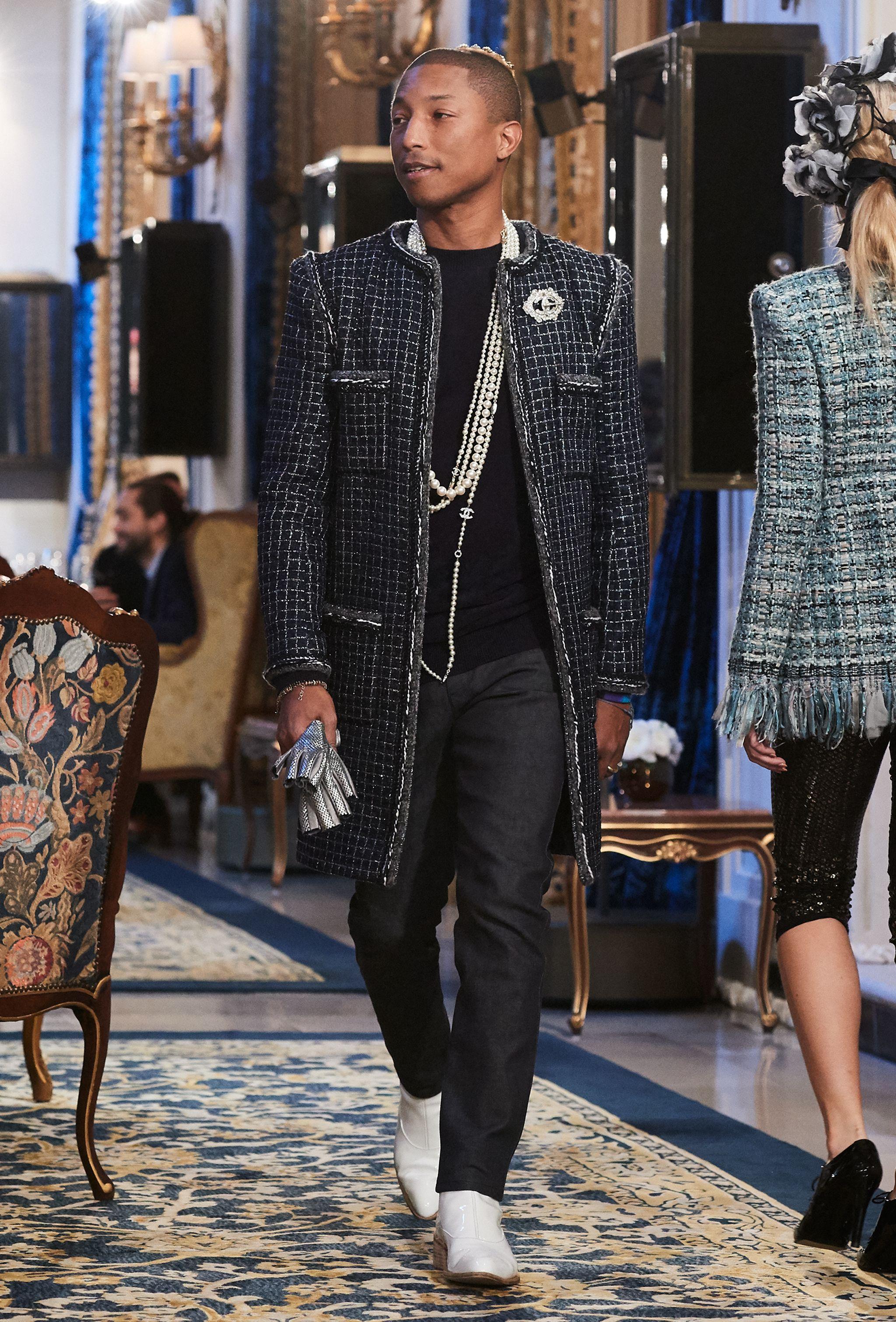 """Thương hiệu Chanel tiếp tục """"bắt tay"""" Pharrell Williams 9"""