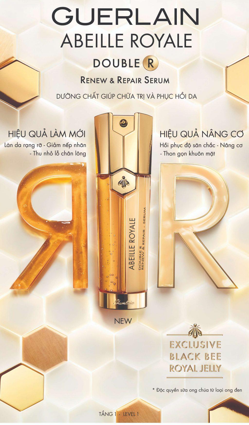 Guerlain ra mắt Double R Serum