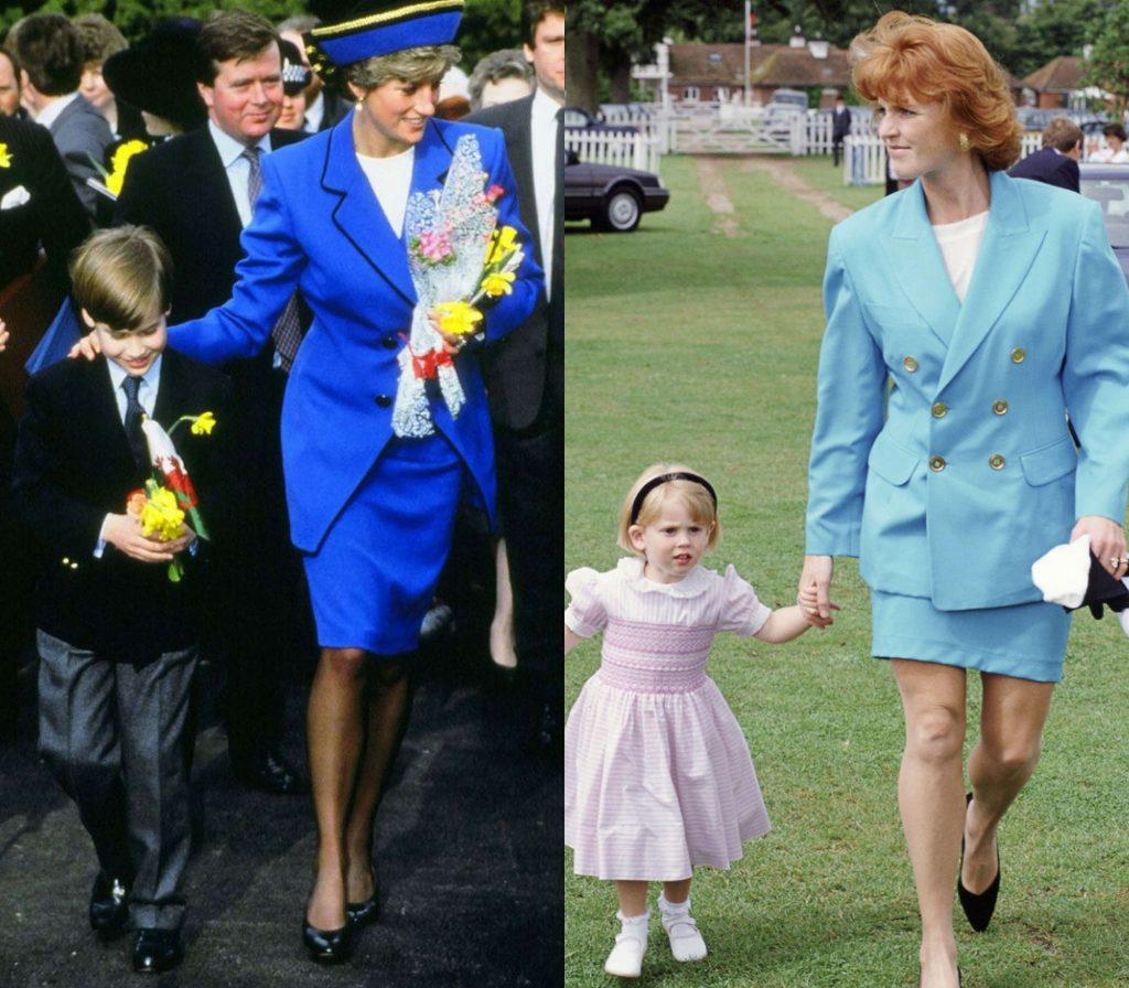 phong cách thời trang của hai thế hệ công nương hoàng gia Anh 17