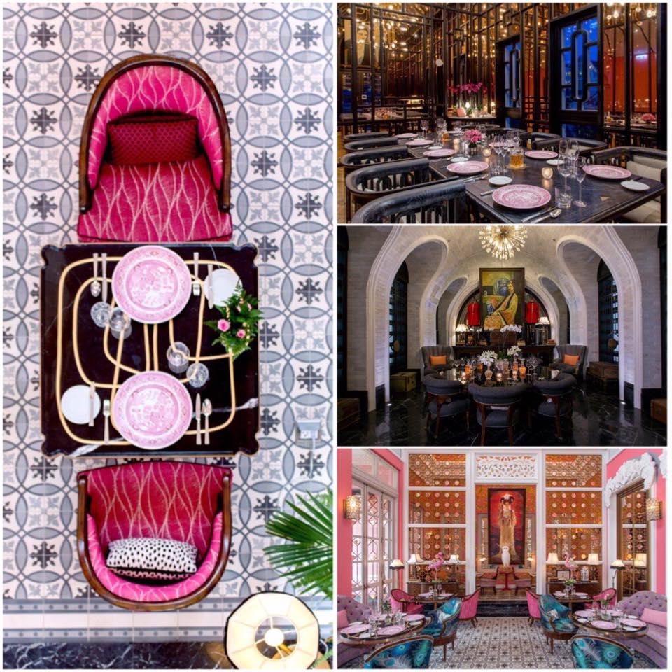 biệt thự ẩm thực Pháp Pink Pearl 5