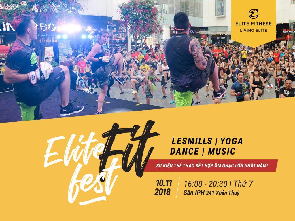 Elite Fitness tổ chức hội thao ngoài trời kết hợp âm nhạc Fit Fess 2018 5