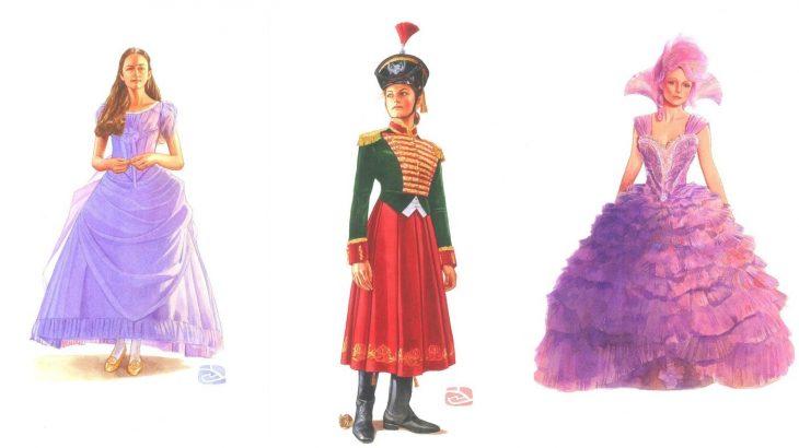 NTK Jenny Beavan thời trang trong phim Kẹp hạt dẻ và bốn vương quốc