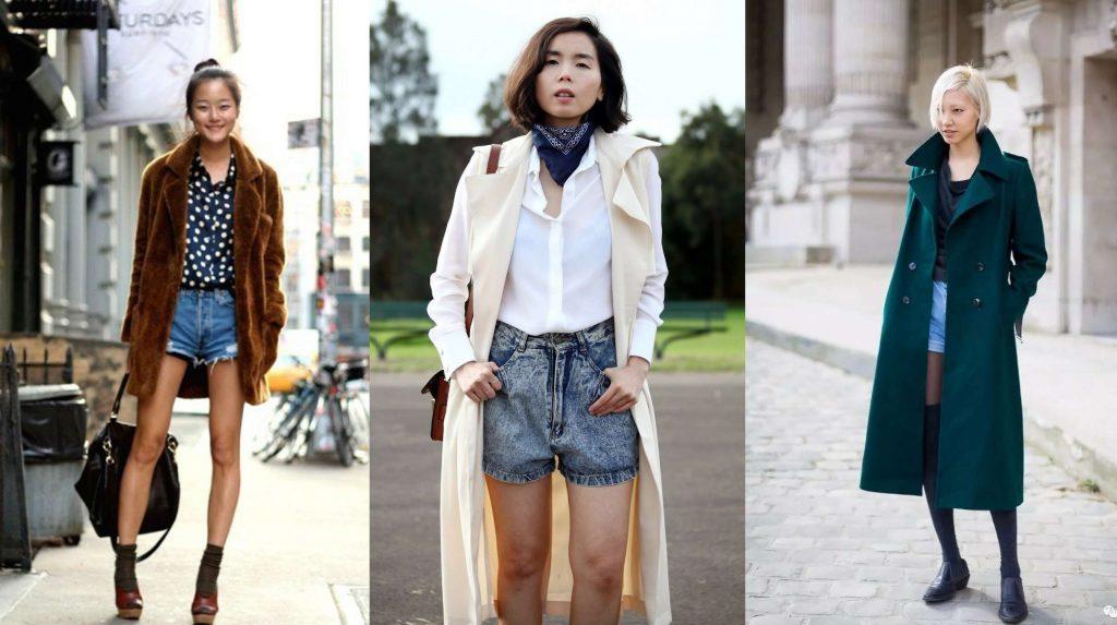 quần shorts sành điệu mùa Thu - Đông 10